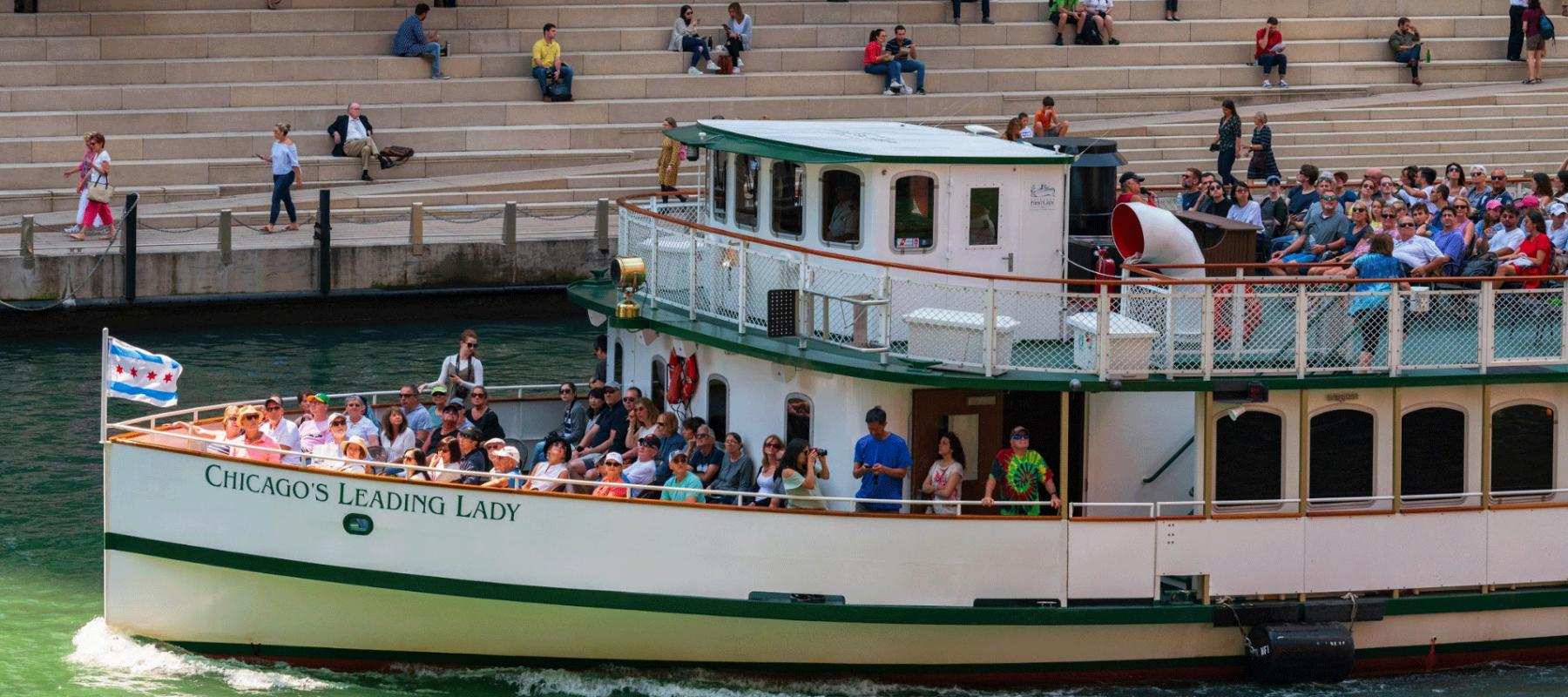Best Architectural River Cruise Chicago | River Cruise