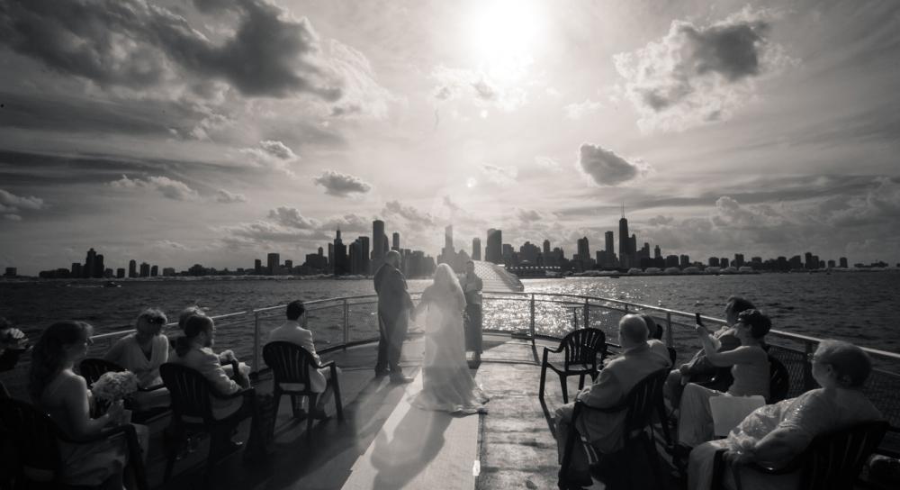 Wedding reception on a boat chicago